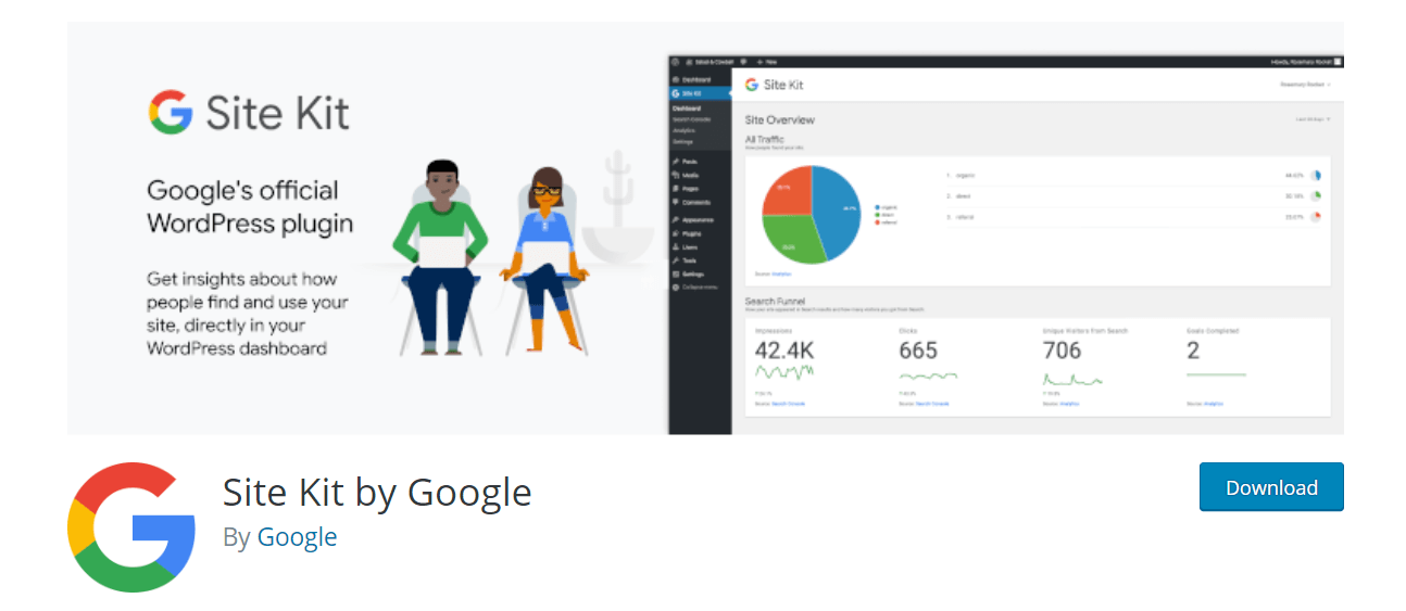 Google SiteKit For WordPress شرح